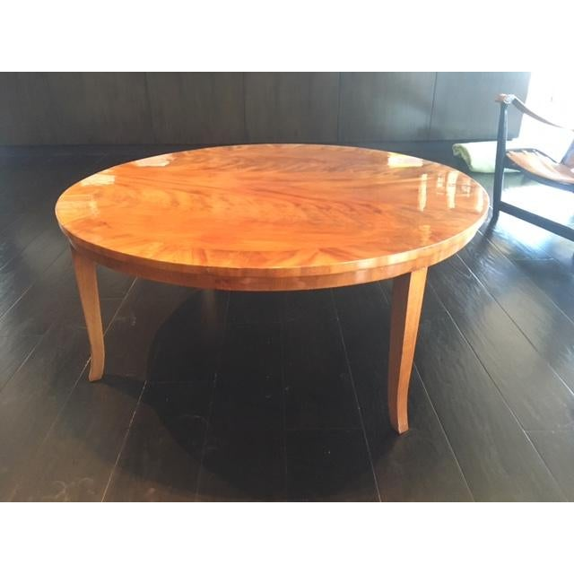 Stunning Round Coffee Table - Image 2 of 8