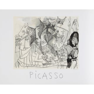 Pablo Picasso -Jeux De Pages Estate Lithograph
