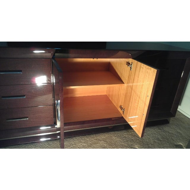Excelsior Designs Italian High Gloss Dresser For Sale - Image 4 of 7