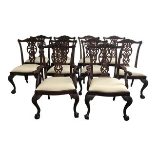 Maitland-Smith Dining Chairs - Set of 10