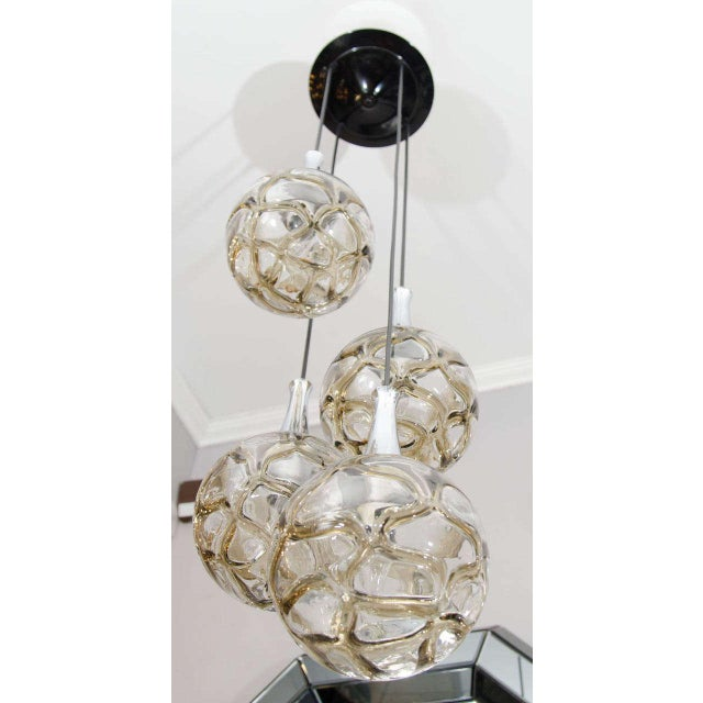 1960s German Globe Glass Fixture For Sale In New York - Image 6 of 6