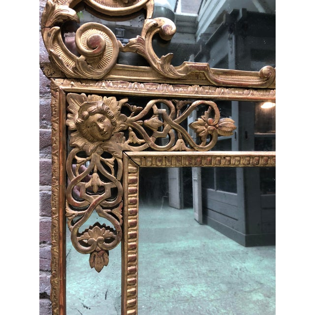 Magnificent Régence Mirror For Sale - Image 6 of 13