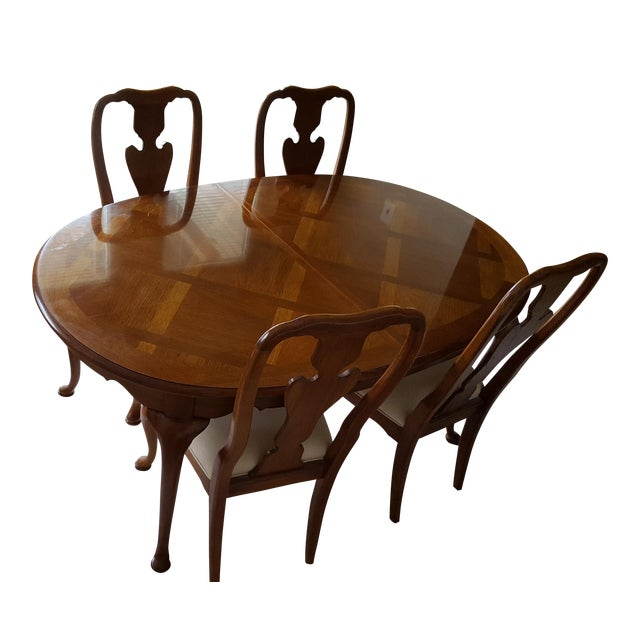 Thomasville Dining Room Chairs: Thomasville Dining Table & 4 Chairs