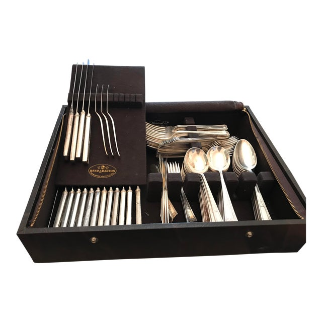 "Wallace ""Buckingham"" Silver-Plated Flatware Collection For Sale"