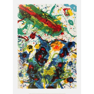 """Sam Francis """"Untitled Sf-341"""" Lithograph, 2004 For Sale"""