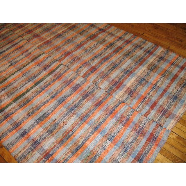 Vintage Turkish Rag Rug- 6'4'' x 10'3'' - Image 3 of 3