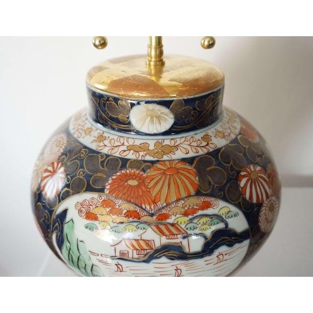 Samson Imari Lamps, Mallett London - a Pair For Sale - Image 11 of 13
