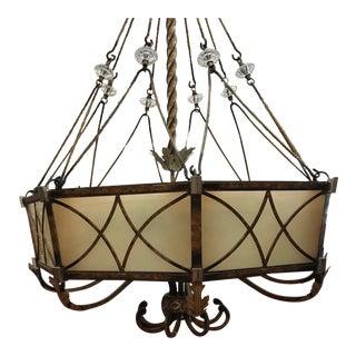Transitional Foyer Pendant Light For Sale