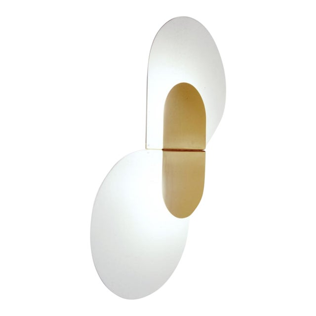 Large Scaled Wall Sconce by Pia Guidetti for Lumi, Model 1323/Pl/2 For Sale