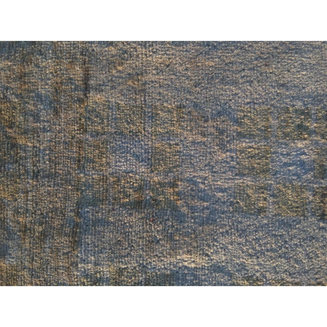 Persian Vintage Sultanabad Rug - 4′ × 5′8″ - Image 6 of 11