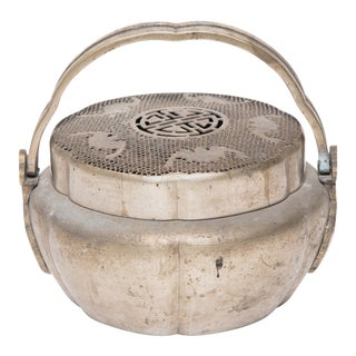 19th Century Chinese Double-Handled Prosperity Brazier For Sale