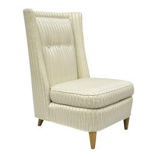 1950s Vintage Paul Laszlo Slipper Lounge Chair For Sale