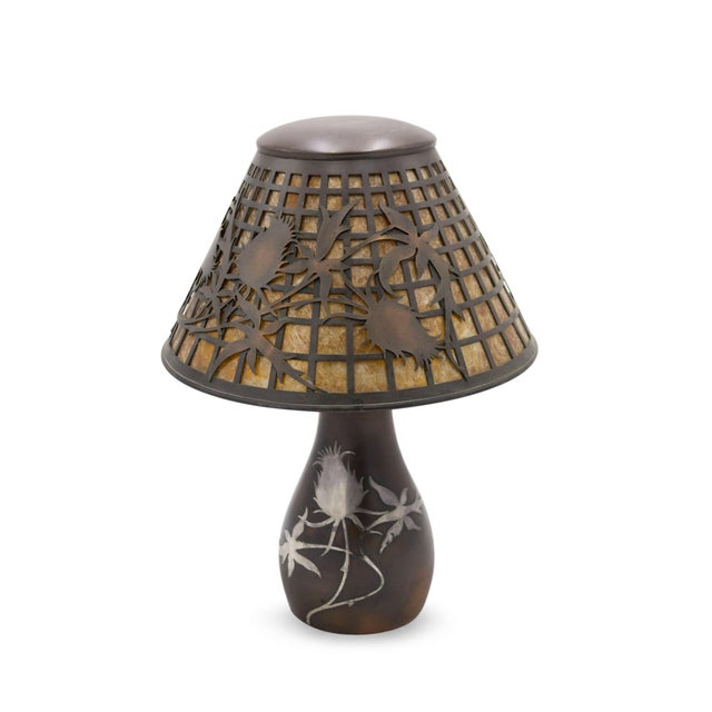 American Mission Heintz Art Metal Table Lamp For Sale In New York - Image 6 of 7