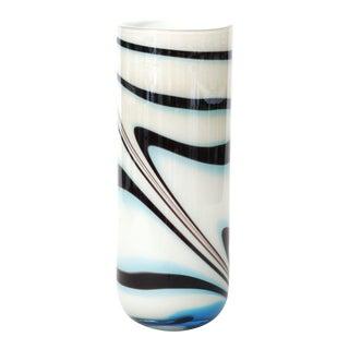 Mid 20th Century Italian Oversized Glass Vase For Sale
