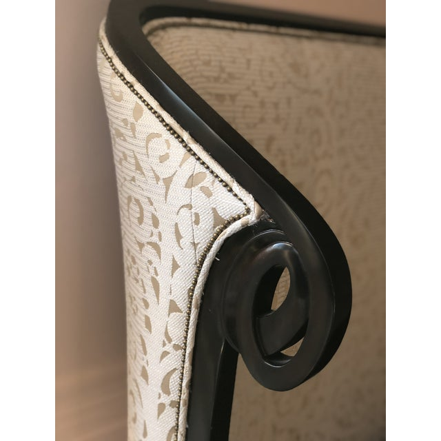 Traditional Christopher Guy Upholstered King Headboard For Sale - Image 3 of 8