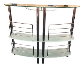 Image of Chrome Bar Carts