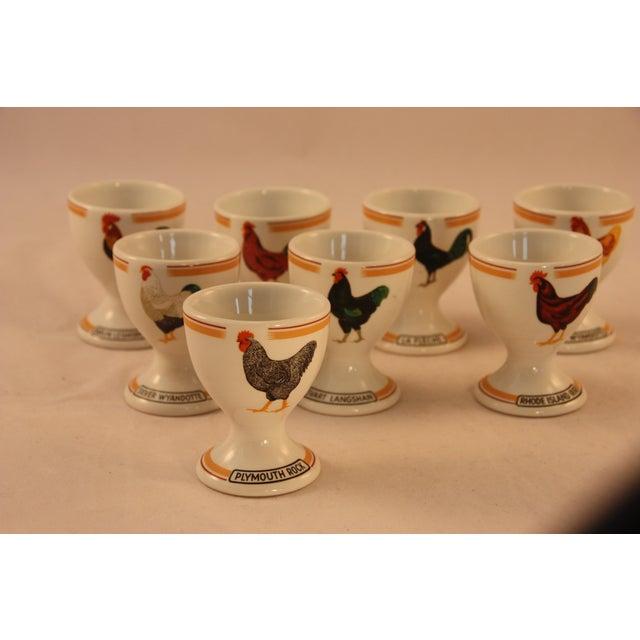 Vintage Rörstrand Egg Cups - Set of 8 For Sale - Image 10 of 10