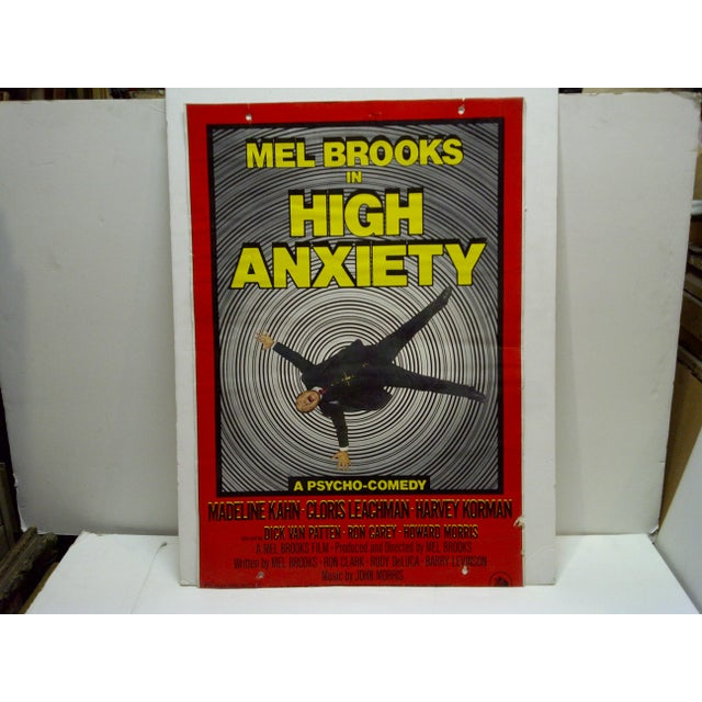 """Mel Brooks in """"High Anxiety"""" Movie Poster For Sale - Image 5 of 5"""