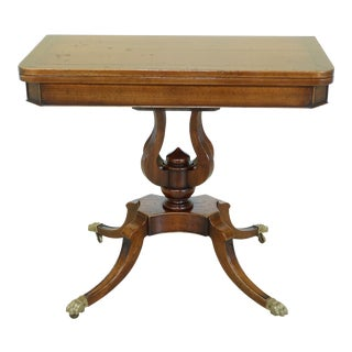 l.mobili Italian Made Flip Top Games Table For Sale