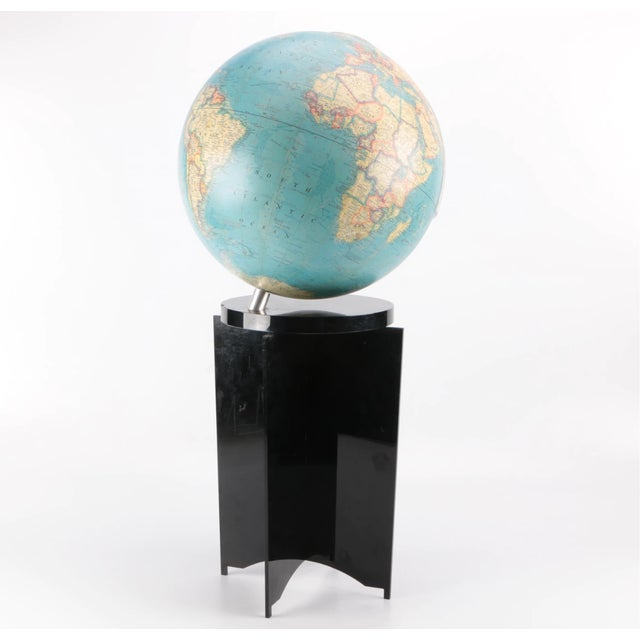 1970s 1970's Vintage Lucite Globe For Sale - Image 5 of 7