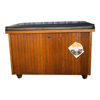 1960s Mid Century Modern Altavista Lane Record Chest For Sale