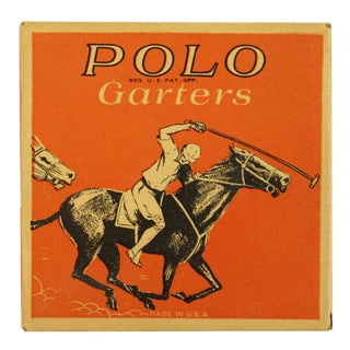 Orange Polo Garters Box