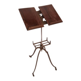Early 20th century Vintage dictionary stand For Sale