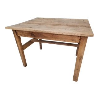 Antique French Walnut Dining Table For Sale