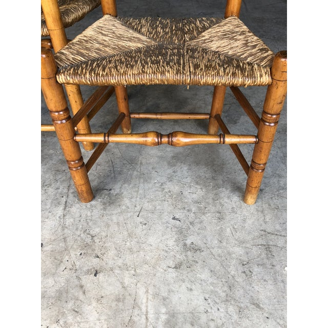 Late 18th Century Late 18th Century Country Queen Anne Chairs- A Pair For Sale - Image 5 of 11