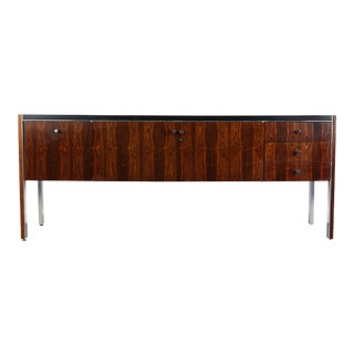 1970s Rosewood Credenza Case Piece by Herman Miller for Biltrite Canada For Sale
