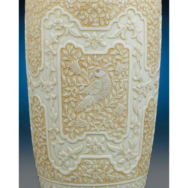 Thomas Webb & Sons Cameo Glass Vases by Webb For Sale - Image 4 of 8