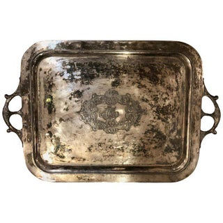 Victorian Aesthetic Movement Butlers Tray For Sale