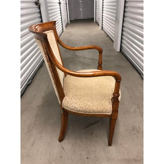 1960s Vintage Traditional Wood Arm Chair Preview