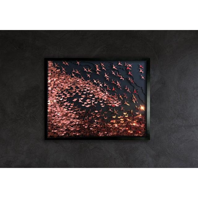 Flamboyance a three-dimensional framed artwork by Daniel Byrne - Image 3 of 5