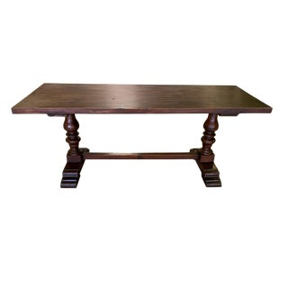 18th Century Tuscan Walnut Monestary Table For Sale