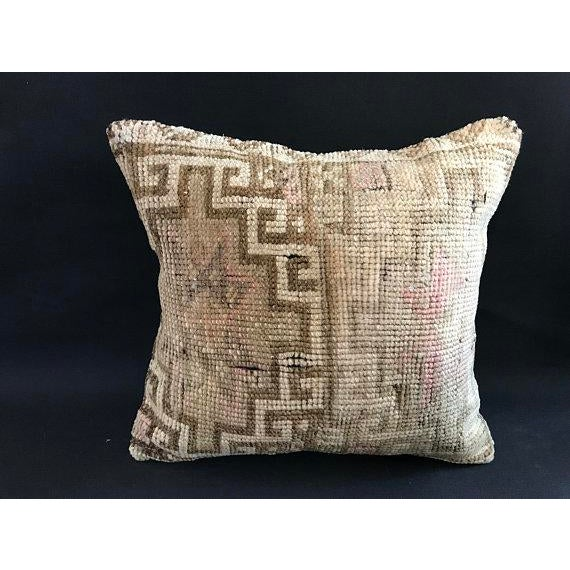 1960s Anatolian Handwoven Vintage Pillowcase For Sale - Image 5 of 11