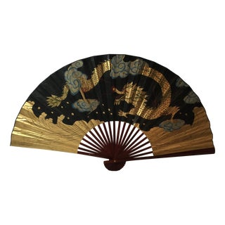 Decorative Chinese Dragon Fan