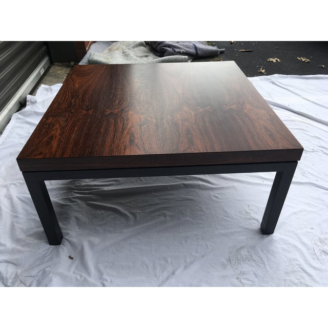Rosewood Top Mid-Century Coffee Table For Sale In Atlanta - Image 6 of 9