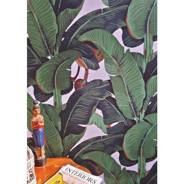 Beverly Hills Hotel Banana Leaf Wallpaper - Image 2 of 5