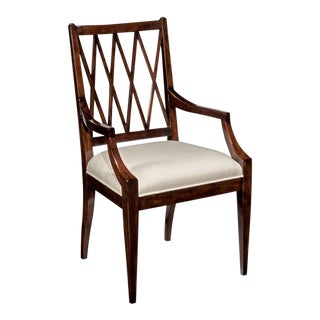 Modern Addison Brown Arm Chair For Sale