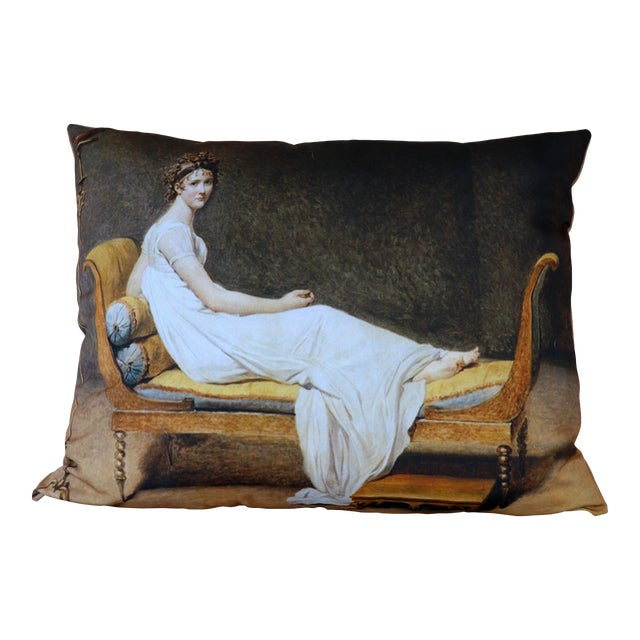 Paris Photo Pillow Juliette Recamier For Sale