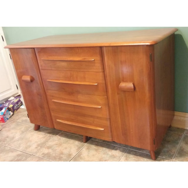 Art Deco Carl Bissman Danish Modern Credenza For Sale - Image 3 of 11