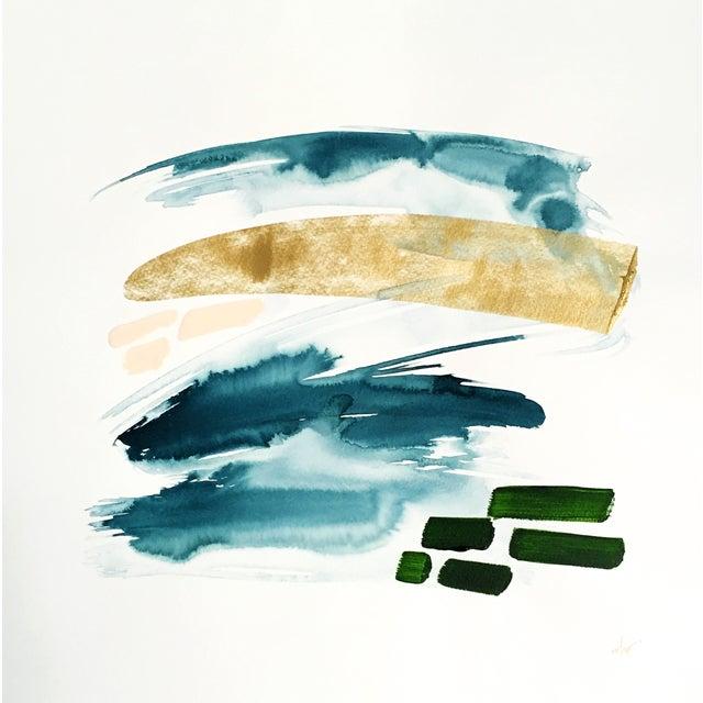 "Beth Winterburn Abstract - ""Adventuring"" - Image 1 of 3"