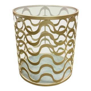 Caracole Modern Catch a Wave End Table For Sale