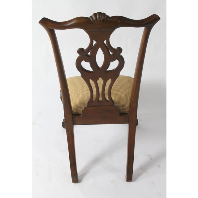 Chippendale Chippendale Style Dining Chairs - Set of 8 For Sale - Image 3 of 11