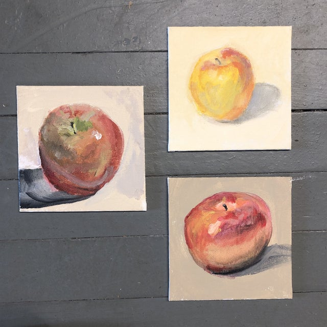 Gallery Wall Collection 3 Fruit Still Life Impressionist Paintings For Sale In Philadelphia - Image 6 of 6