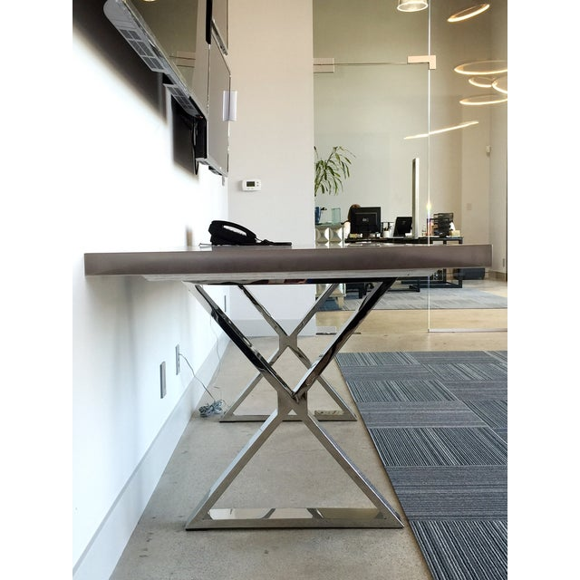 Contemporary Dining Table - Image 3 of 7