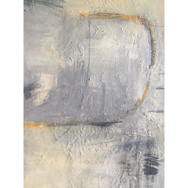 "Abstract ""First String"" Modern Original Abstract Painting For Sale - Image 3 of 7"