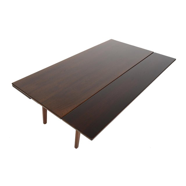 Danish Modern Rosewood Elevation Coffee Table - Image 7 of 8