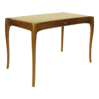 French Art Nouveau Rosewood Writing Table